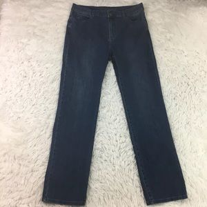 Soft Surroundings Classic Straight Jeans 14 Tall